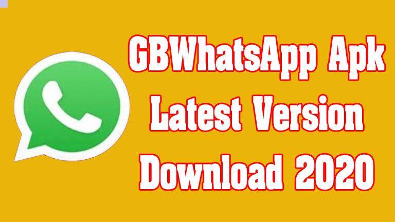 GBWhatsApp Apk Latest Version Download 2020