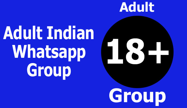 Adult Indian Whatsapp Group