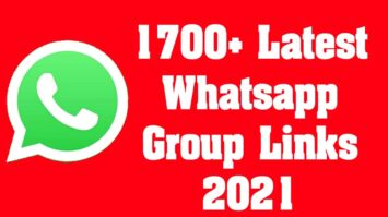 1700+ Latest Whatsapp Group Links 2021